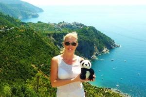 me in Cinque Terre